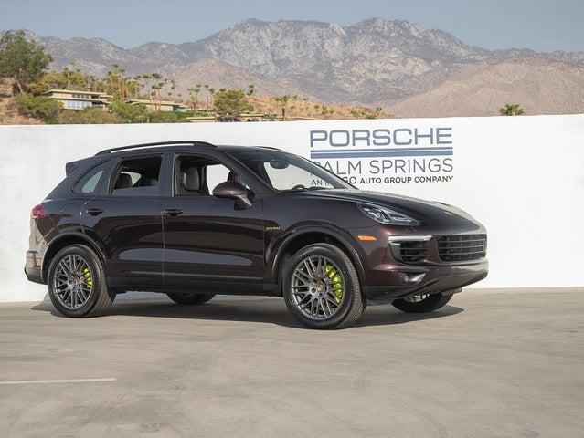 2017 Porsche Cayenne E-Hybrid S AWD