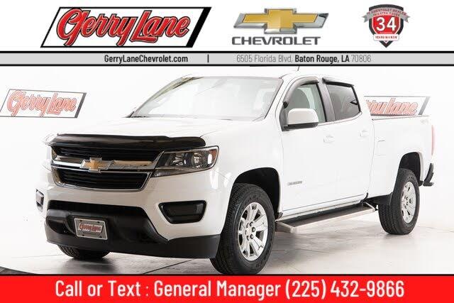 2018 Chevrolet Colorado LT Crew Cab 4WD
