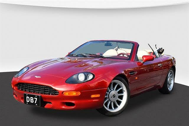 1997 Aston Martin DB7 Vantage Volante Convertible RWD