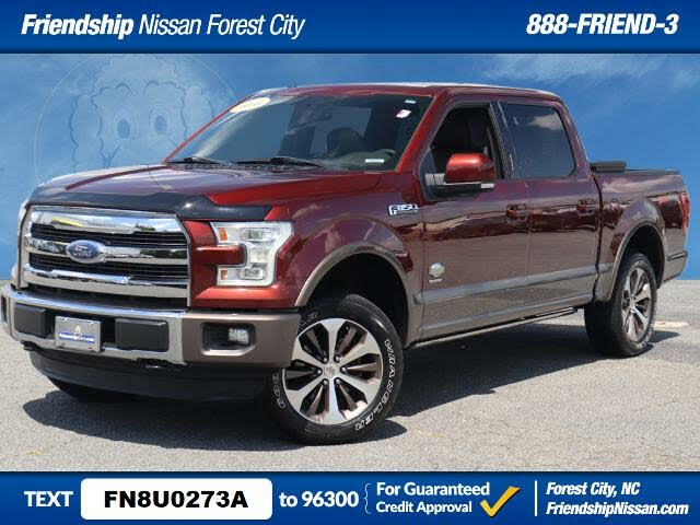 2015 Ford F-150 King Ranch SuperCrew 4WD