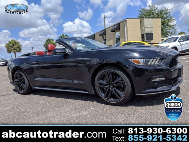 2015 Ford Mustang EcoBoost Premium Convertible RWD
