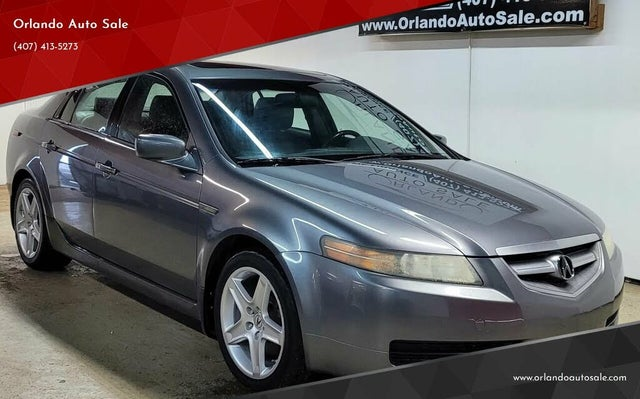 2006 Acura TL FWD with Performance Tires and Navigation