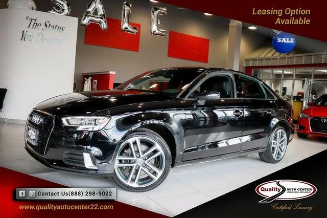 2018 Audi A3 2.0T quattro Premium Sedan AWD