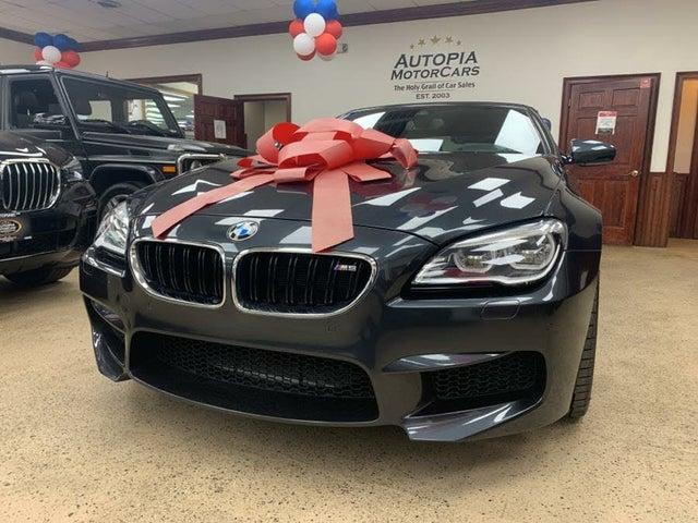 2017 BMW M6 Convertible RWD