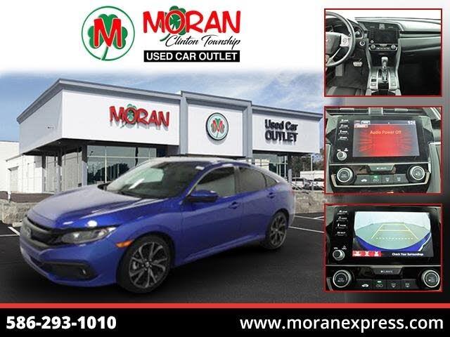 2020 Honda Civic Sport Sedan FWD