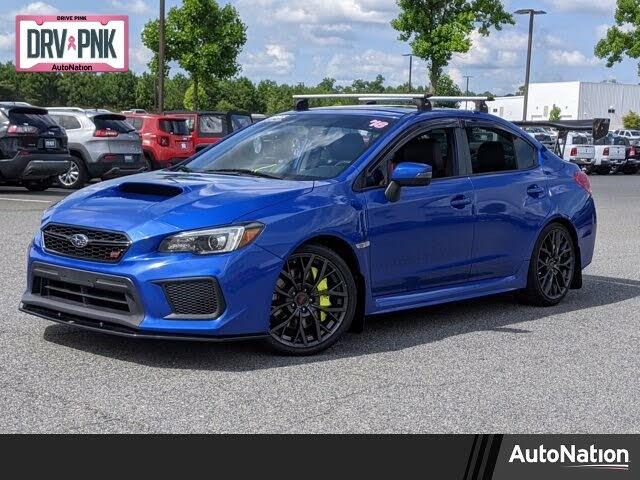 2018 Subaru WRX STI Limited AWD with Wing Spoiler