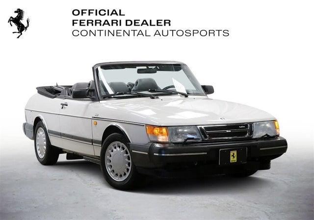 1991 Saab 900 2 Dr Turbo Convertible
