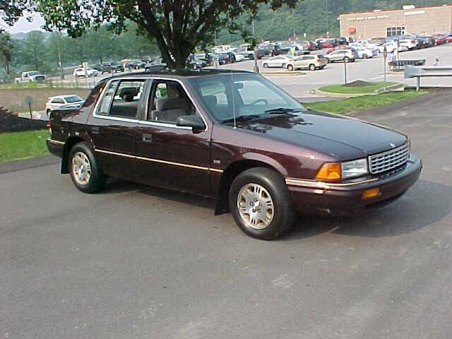 1995 Plymouth Acclaim 4 Dr STD Sedan
