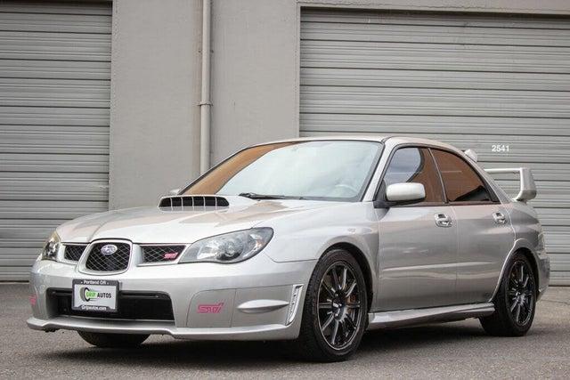 2007 Subaru Impreza WRX STI Turbo AWD