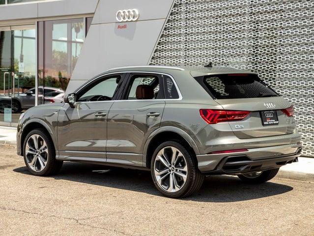2021 Audi Q3 2.0T quattro Premium Plus S Line AWD