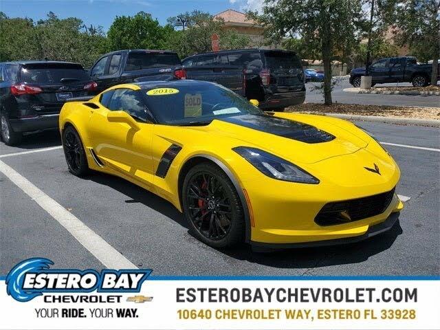 2015 Chevrolet Corvette Z06 2LZ Coupe RWD
