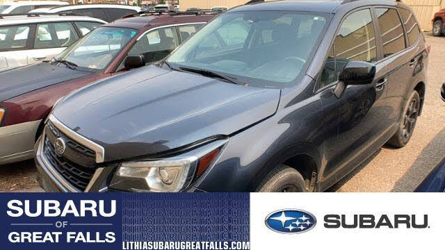2018 Subaru Forester 2.5i Premium Black Edition