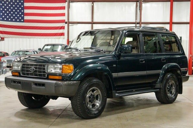 1997 Toyota Land Cruiser 40th Anniversary Limited 4WD