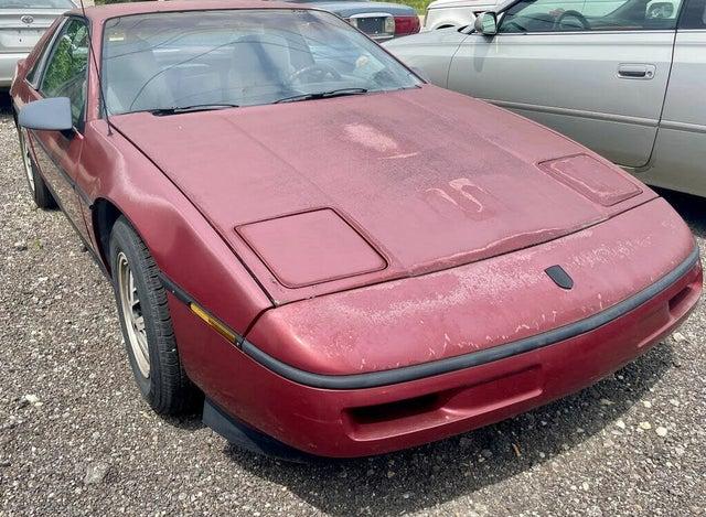 1987 Pontiac Fiero Base