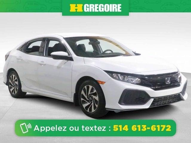 2018 Honda Civic Hatchback LX FWD