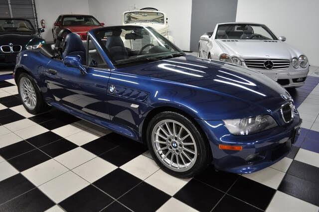 2002 BMW Z3 3.0i Roadster RWD