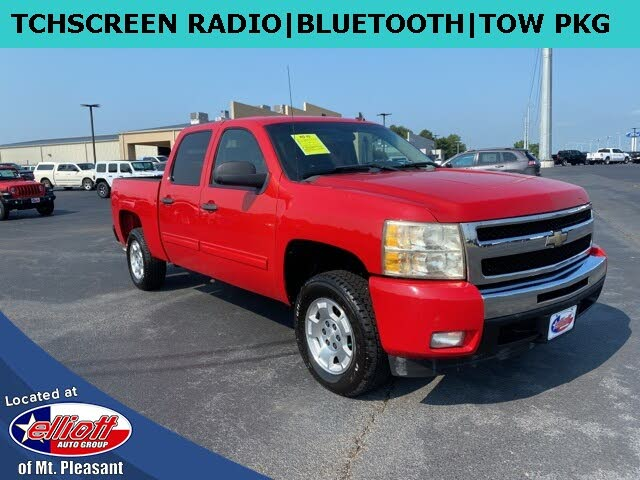 2011 Chevrolet Silverado 1500 LT Crew Cab RWD