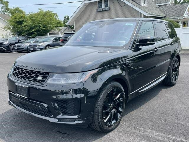 2018 Land Rover Range Rover Sport V8 Supercharged Dynamic 4WD