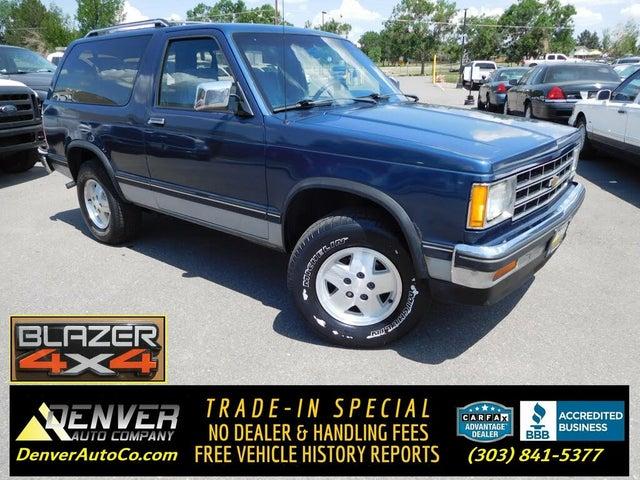 1989 Chevrolet S-10 Blazer