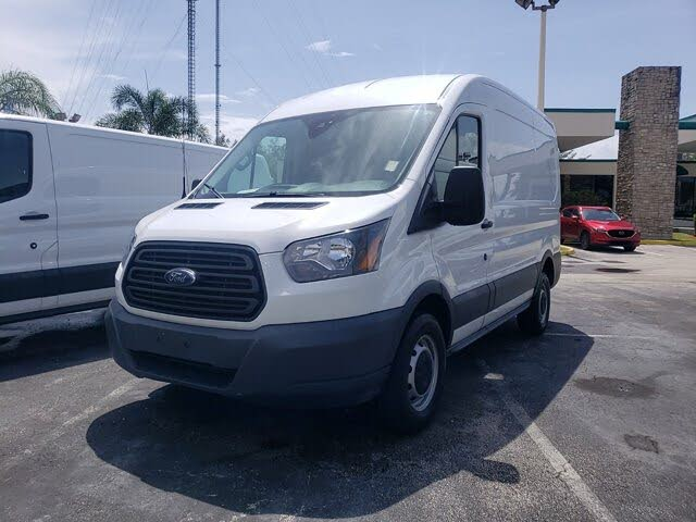 2018 Ford Transit Cargo 350 3dr SWB Medium Roof Cargo Van with Sliding Passenger Side Door
