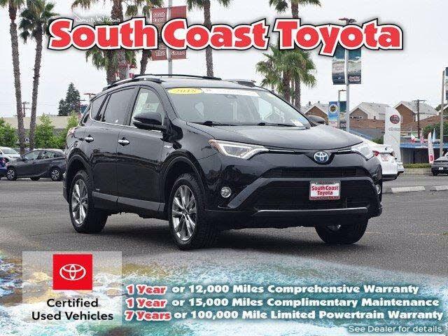 2018 Toyota RAV4 Hybrid Limited AWD