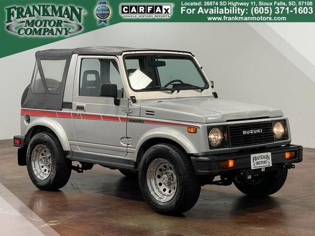 1987 Suzuki Samurai Deluxe 4WD