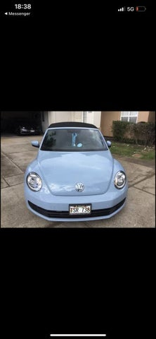 2015 Volkswagen Beetle 1.8T Convertible with Technology