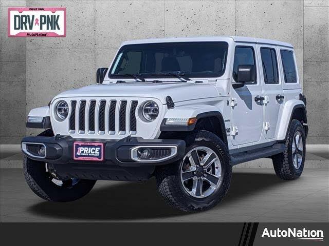 2020 Jeep Wrangler Unlimited Sahara 4WD