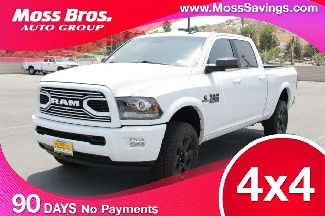2018 RAM 2500 Laramie Crew Cab 4WD
