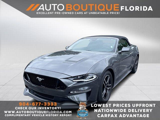2021 Ford Mustang EcoBoost Premium Convertible RWD