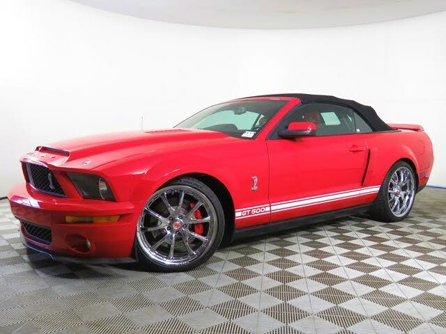 2007 Ford Mustang Shelby GT500 Convertible RWD