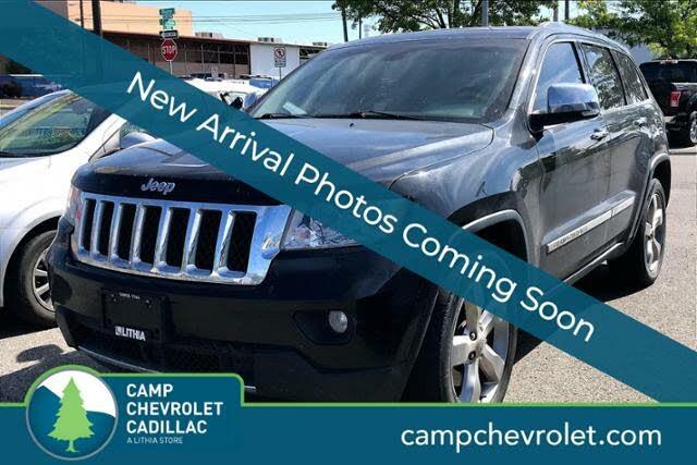 2013 Jeep Grand Cherokee Overland 4WD
