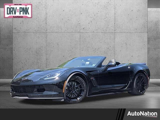 2017 Chevrolet Corvette Grand Sport 1LT Convertible RWD
