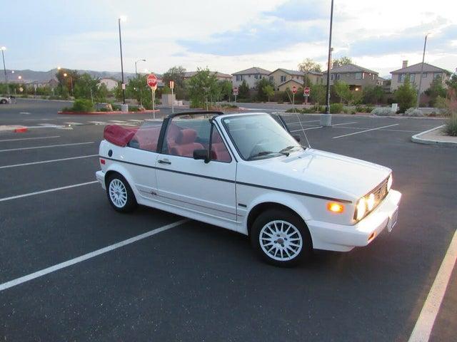 1990 Volkswagen Cabriolet Base