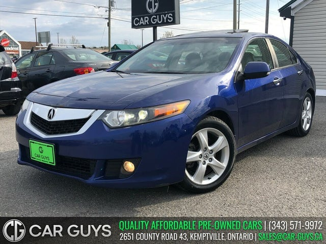 2010 Acura TSX Sedan FWD with Premium Package