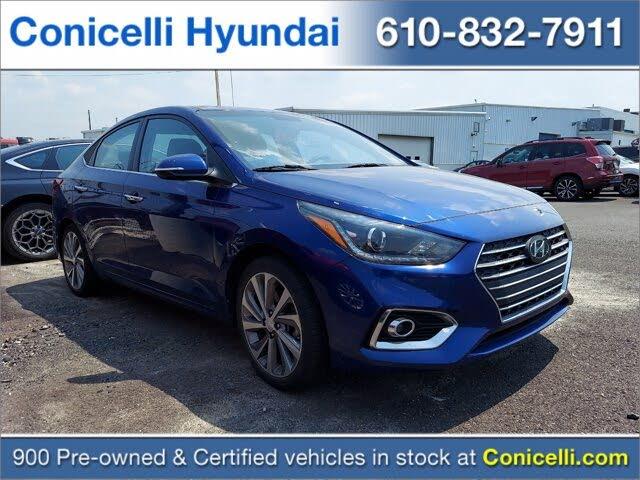 2018 Hyundai Accent Limited Sedan FWD