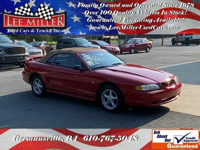 1998 Ford Mustang Convertible RWD