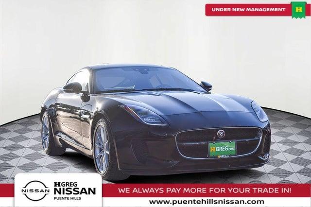 2018 Jaguar F-TYPE 296HP Coupe RWD