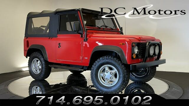 1997 Land Rover Defender 90 Convertible
