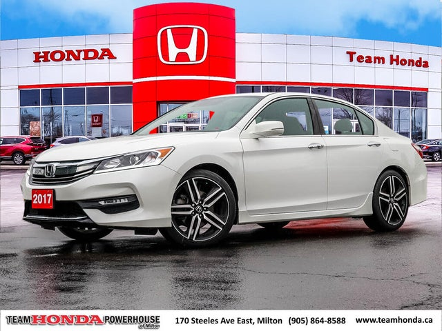 2017 Honda Accord Sport FWD with Honda Sensing