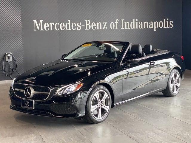 2018 Mercedes-Benz E-Class E 400 4MATIC Cabriolet AWD