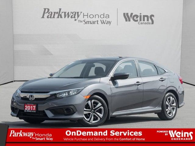 2017 Honda Civic LX with Honda Sensing