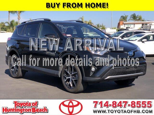 2018 Toyota RAV4 Hybrid SE AWD