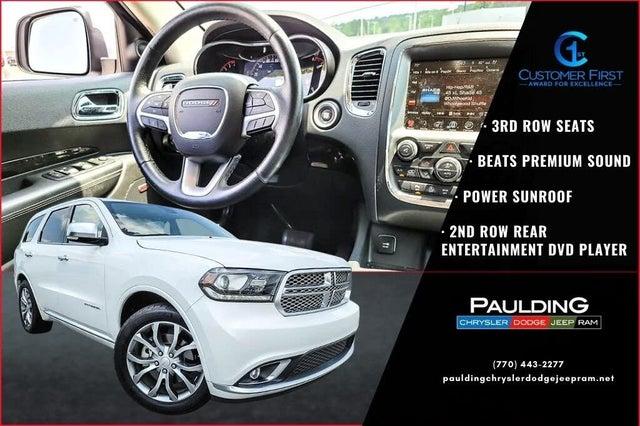 2017 Dodge Durango Citadel Anodized Platinum RWD