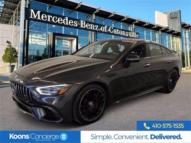 2019 Mercedes-Benz AMG GT 63 Sedan 4MATIC AWD