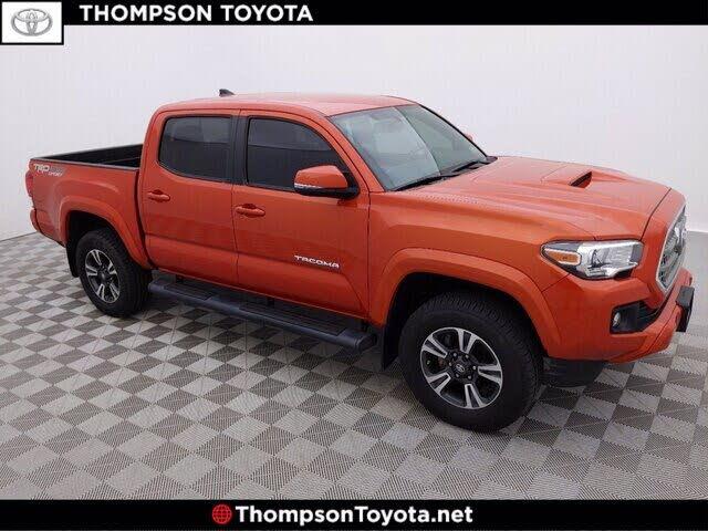 2017 Toyota Tacoma TRD Sport V6 Double Cab 4WD