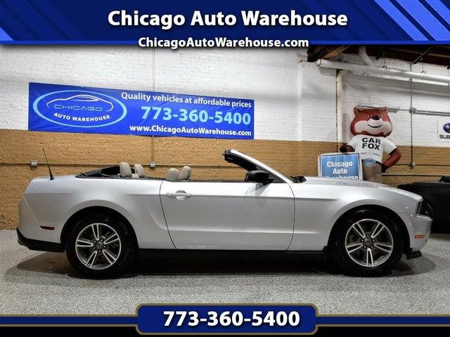 2012 Ford Mustang V6 Premium Convertible RWD