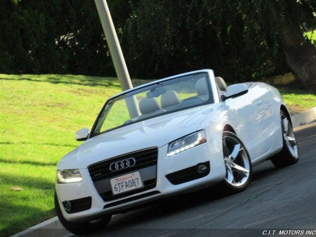 2012 Audi A5 2.0T quattro Premium Plus Cabriolet AWD