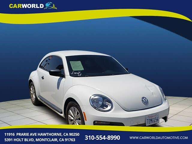 2018 Volkswagen Beetle 2.0T S Hatchback FWD