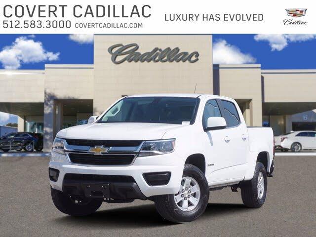 2020 Chevrolet Colorado Work Truck Crew Cab RWD